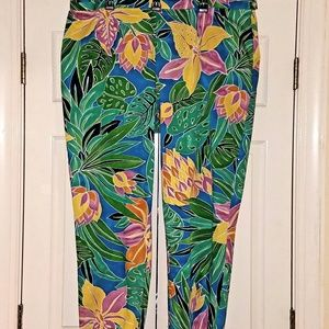 LRL RALPH LAUREN Tropical Capri Pants 22W